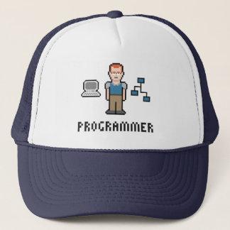 PIXELprogrammerarehatt Truckerkeps