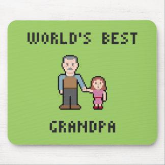PIXELvärlds bäst morfar Mousepad Musmatta