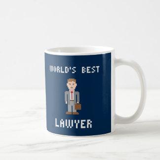 PIXELvärlds bäst mugg för advokat