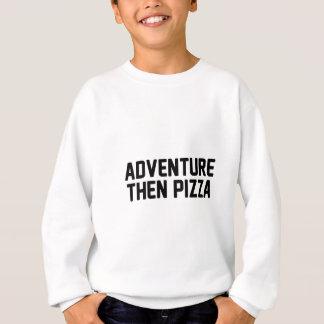 Pizza för äventyr därefter t-shirt