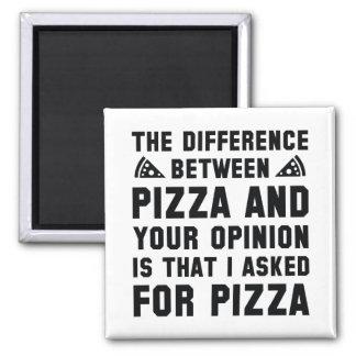 Pizza och din åsikt magnet