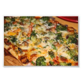 Pizza Vegies Fototryck