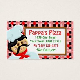 Pizzarestaurang Visitkort
