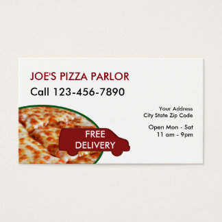 Pizzarestaurangleverans Visitkort