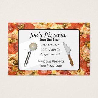 Pizzarestaurangvisitkort Visitkort