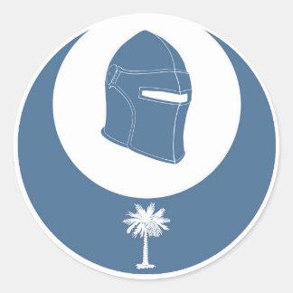 PK emblem (lg) Runt Klistermärke