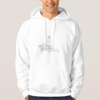 Placerad nakenstudie sweatshirt