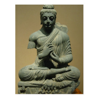 Placerade Buddha Vykort