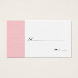 Placering för elegantrodnadbord/ställekort visitkort