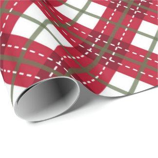 Pläd av jul presentpapper