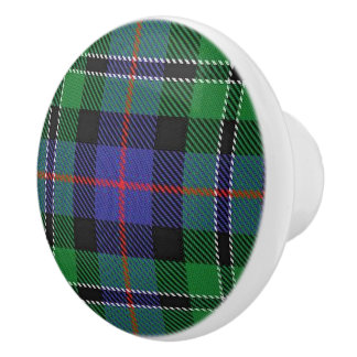Pläd för Tartan för skotsk praktklan rosa Knopp