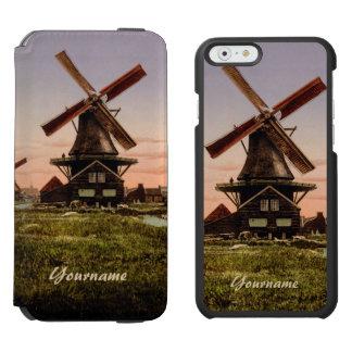 Plånböcker för fodral för holländska Windmills för