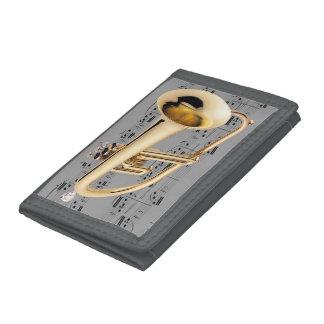 Plånbok - Flugelhorn - plockafärg + Stil