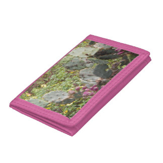 Plånbok för nylon för FLORIDA KAKTUS rosa