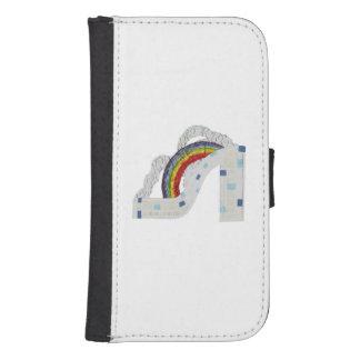 Plånbok för regnbågestilettSamsung galax S4