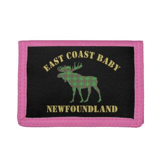 Plånbok för tartan för ostkustbabyNewfoundland älg