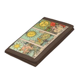 Plånbok för vintageTarot Trio