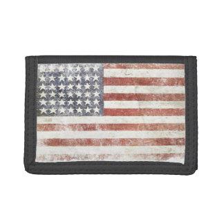 Plånbok med den kalla USA flaggan