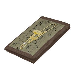 Plånbok - Trombone (ventil) - plockafärg + Stil