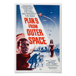Planera 9 från rymden poster