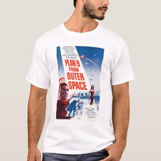 Planera 9 från rymden t-shirts