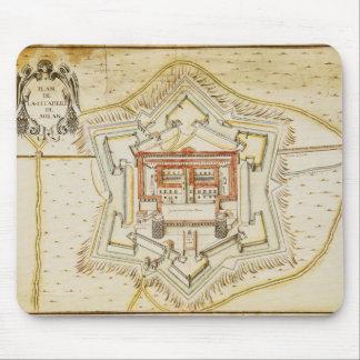 Planera av citadelen av Milan Musmattor