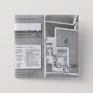 Planera av den Maternite Port-Royalet Standard Kanpp Fyrkantig 5.1 Cm