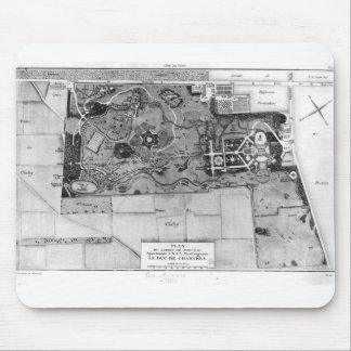 Planera av Parc Monceau i Paris Musmatta