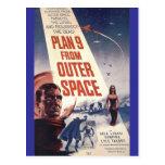 """Planera nio från rymden """", vykort"""