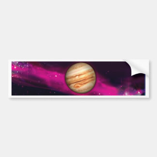 Planet Jupiter Bildekal
