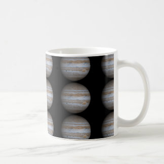 Planet Jupiter Vit Mugg
