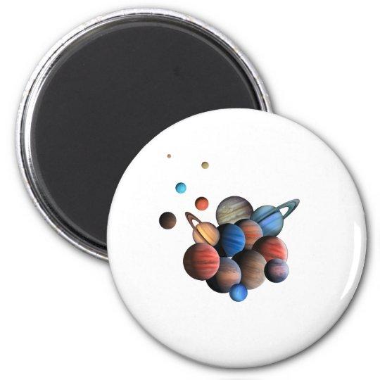 Planet Magnet Rund 5.7 Cm