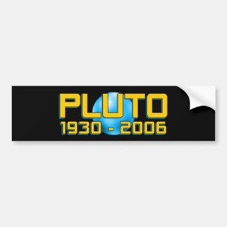 Planet Pluto REVAN 1930 - 2006 - roliga astronomi Bildekal