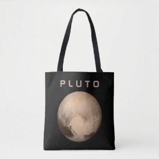 Planet Pluto - se båda sidor Tygkasse
