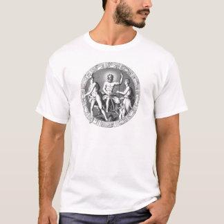 Planetarisk kalenderskjorta t shirt