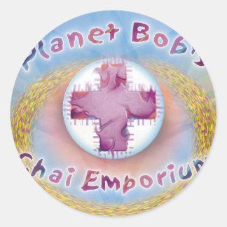 Planetegennamn klistermärke för Chai Emporium