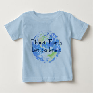 Planetjord - älska den eller lämna den t-shirts