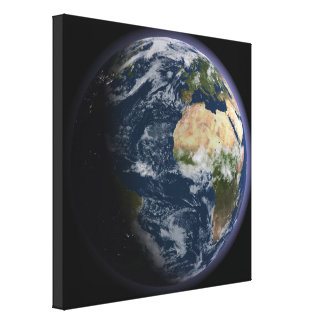 Planetjord Canvastryck