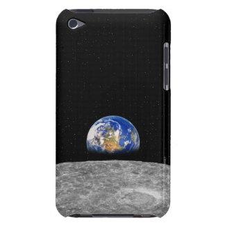 Planetjord som stigning över månen iPod touch skal