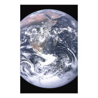 Planetjord - vår värld brevpapper
