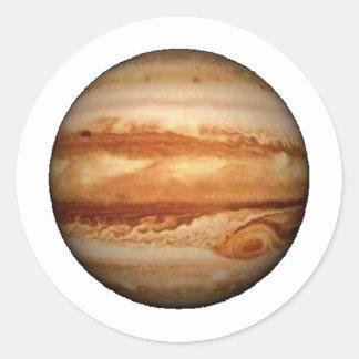 PLANETJUPITER v.3 (sol- system) ~ Runt Klistermärke