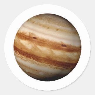 PLANETJUPITER v.4 (sol- system) ~ Runt Klistermärke