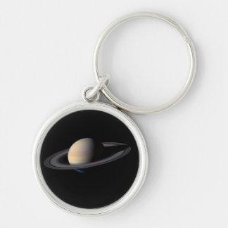 PlanetSATURN Zipper-Handtag & bagagemärkre, Keycha Nyckel Ring