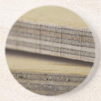 plankor av trä underlägg sandsten