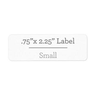 Planlägg din egna etikett 8,5 x 11 returadress etikett