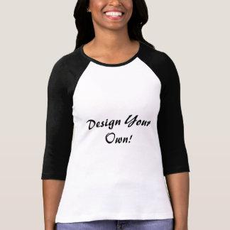 Planlägg din egna vit och svärta tee shirt