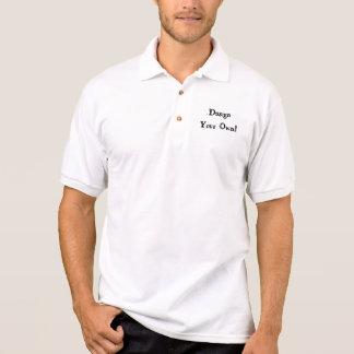 Planlägg din egna vit polo tröja