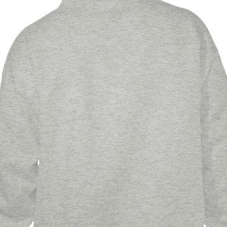 Planlägg dina egna grå färg hoodie