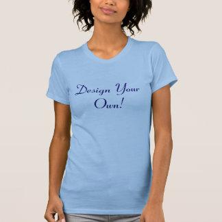 Planlägg dina egna havblått och midnatt t-shirt