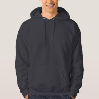 Planlägg dina egna mörka grå färg hoodie
